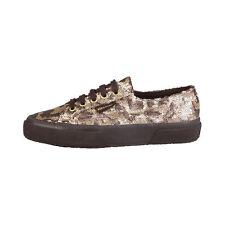 Zapatillas deportivas de mujer Superga color principal gris de lona