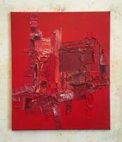 """FOUGERAND.LAURENT _ huile sur toile 16/12/20 """" Sans titre """" 55 cm x 46 cm"""
