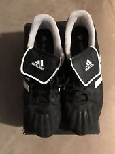 womens Adidas Telstar black and white soccer cleats size 6.5