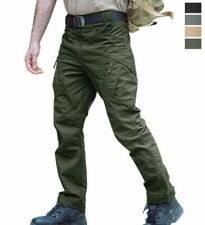 Mens Military Cargo Pants Army Combat Outdoor Hiking Camping Solid Work pants z