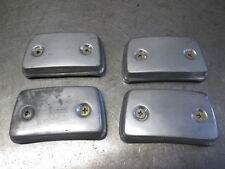 1981 Suzuki GS750X GSX750 Cylinder Head Side Cover Caps and Hardware Set WRC26