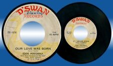 Philippines EDDIE PEREGRINA Our Love was born OPM 45 rpm Record