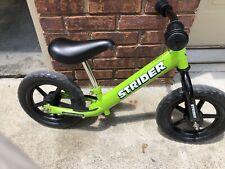 Strider 12 inch Sport No-Pedal Balance Bike - Green