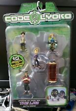 Marvel Toys Code Lyoko episode 33 the lab  mini Figure set factory Sealed 2006