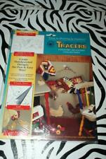 "Accent Magic Mural Tracers Country Meadows Collection ""Roosters & Chicks"" New!"