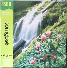 PEACEFUL WATERFALL 1500 pieces SPRINGBOK PUZZLE