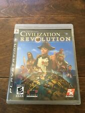 PS3 SID MEIER'S CIVILIZATION REVOLUTION - INCLUDES CASE & GAME BOOKLET
