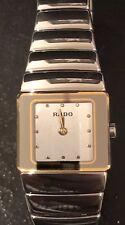 Rado DiaStar High Tech Ceramic Woman's Swiss Quartz Watch, No. 153.0334.3
