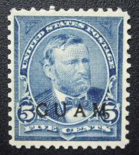 Mint 1899 Guam #5 Near Perfect Centering MH OG