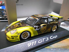 PORSCHE 911 996 GT3 Cup Supercup 2004 UPS Junior Team Mamerow Minichamps 1:43