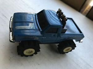 Vintage Schaper Stomper 4x4 Blue Toyota SR5 Pickup Truck Running Tested Works