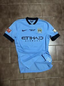 2014 Manchester City Nike Match Prepared / Issued Shirt Jersey