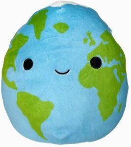 NEW Kellytoy Squishmallow Roman Planet Earth Super Squishy Cute Kids Plush Toy!