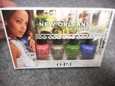 FREE SHIP USA OPI NEW ORLEANS COLLECTION MINI NAIL POLISH LACQUER 4 BOTTLES