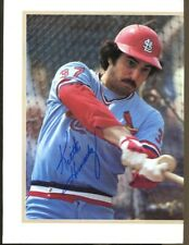 Keith Hernandez Signed Magazine Page Photo Autographed Cardinals 55321