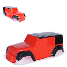 Crawler DIY PVC Jeep Bodies Shell Climing Car Body with Sticker for 1:10 RC