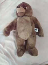 "Kidpower Maurice Sendak 16"" Little Bear 1998 Talks and Laughs Plush Bear"