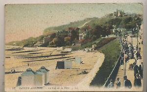 Sainte-Adresse - Le Cap de la Heve, 1917 LL postcard