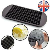 *UK Seller* Silicone 160 Cavity Mini Square Ice Cube Tray Maker Mold Mould