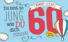 Geburtstagsteelicht Geburtstag Karte Kerze Teelicht Zum 60. Geburtstag