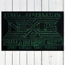 Blade Runner Nexus Logo Embroidered Patch Genetic Replicants Tyrell Corp. Human