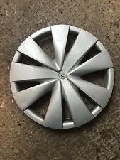 "Toyota Yaris Wheel Trim Silver 2013 Reg Original 15"" Plastic Hub Cap Cover Used"