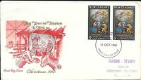 NZFD795  New zealand christmas  cover   1965   FDC $4.00