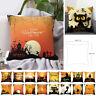 Halloween Orange Thème Maison Fête Décor Taie d'oreiller Housse de coussin