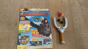 How To Train Your Dragon Magazine Dragons Viking Sling Weapon Dreamworks Toy