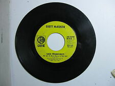 San Francisco - What's The Difference - Scott McKenzie 45 RPM Record