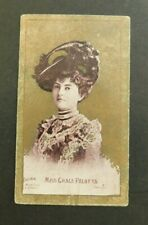 Cigarette Card Sniders & Abrahams 1904 Actresses (Talma) Miss Grace Palotta