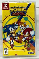 Sonic Mania  - Nintendo Switch - Brand New | Factory Sealed