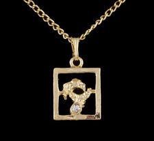 Modeschmuck-Halsketten & -Anhänger aus Kristall mit Strass Astronomie- & Horoskop-Themen