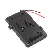 Battery Back Pack Plate Adapter for Sony V-shoe V-Mount V-Lock Battery External