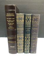 Lot of 4~Lorna Doone, Ben-Hur, Nathaniel Hawthorne and Favorite Works Vintage