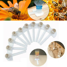 10pcs Beekeeping Honey Entrance Feeder Hive Tool Beekeeper Bee Keeping Equipment