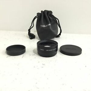 Canon Wide Converter WC-DC52 0.7x, Made in Japan #568