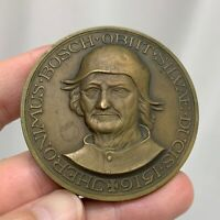 1930 Jheronimus Bosch Bronze Medal Jacob Jan van Goor  - 81288