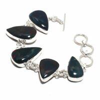Bloodstone Ethnic Jewelry Handmade Bracelet 37 Gms LB-994