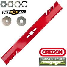 "UNIVERSAL 18"" HEAVY DUTY GATOR MULCHER BLADE by OREGON straight mulching blade"
