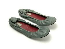 HOLLYWOULD Italy Leather Travel Elastic Ballet Flats Shoes Size 36 US 6