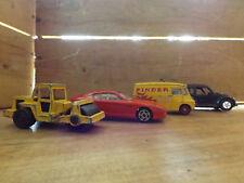 Lot modéle réduit - Ferrari, volkswagen, camion Pinder cirque, engin de chantier