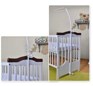 Brand Drape Canopy Mosquito Net Holder Pole Baby Nursery Cot/Crib