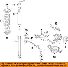 Scion TOYOTA OEM 11-15 tC Rear-Shock Absorber or Strut 4853080678