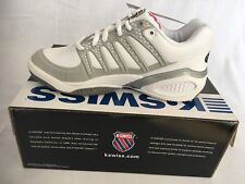 Zapatillas de Tenis para Hombre K-Swiss Performance KS Tfw Hypercourt Exp LTR HB-White//Navy//Silver-m