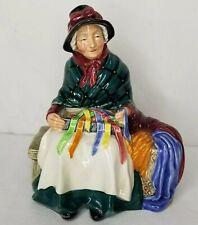 Vintage Royal Doulton Figurine Silks Ribbons Porcelain Limited Stamped England