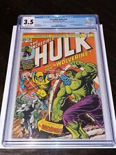Incredible Hulk #181 CGC 3.5 OFF White Pages - 1st Appearance of Wolverine