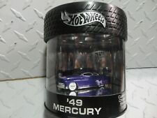 Hot Wheels Oil Can Custom Cruiser Series Purple '49 Mercury  w/Real Rider's