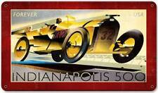 Indianapolis 500 Racing 32 US Postage Stamp Metal Sign Wall Decor USPS059