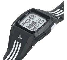Adidas Men's Duramo Armbanduhr Digital Herren-Uhr Quartz Uhr Sport Schwarz